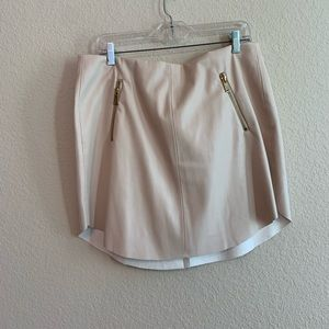 Philosophy cream skirt. NWT